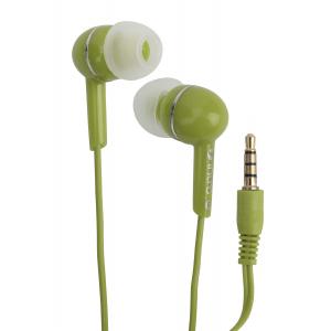 333470 Intro RX-910M вкладыши-гарнитура зеленые (80/400/4800)