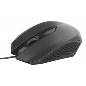 MU130 Мышь_25 Intro black USB (100/1200)